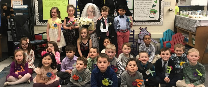 Q & U Wedding - Kindergarten
